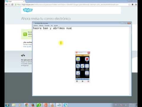 Como Cambiar La Contraseña De skype