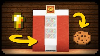 ✔ Minecraft: How to make a Working Vending Machine