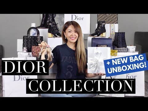 MY ENTIRE DIOR COLLECTION 2018 & MOD SHOTS | + NEW BAG UNBOXING!