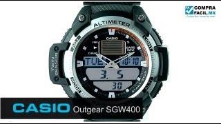Reloj Casio Outgear SGW400 - www.CompraFacil.mx