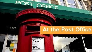English Conversation:  At the Post Office