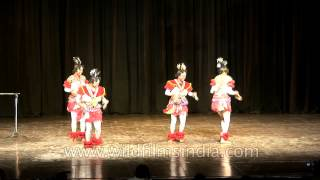 Efik Calabar dancers from Nigeria perform in India