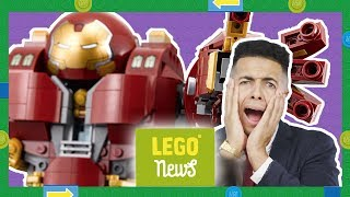 LEGO Hulkbuster, Creator 3in1 Mythical Creatures & Lab Builder Search! | LEGO News Show!