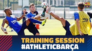 Intense training match ahead of LaLiga debut