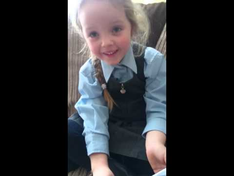 The moment a little Irish girl discovers she is going to be a big sister will leave tears in your eyes