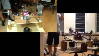 Quadcopter test bed, www.pcbprotos.com