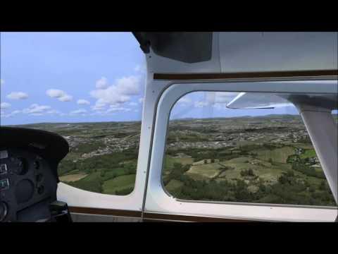 FSX / ORBX Airport / EU EGCW Welshpool / Cessna Skymaster / Beelabba-2332 / fly around