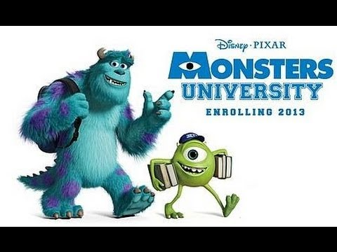 Monsters University- Tráiler Oficial Español Latino