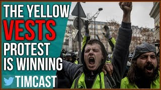 Yellow Vests Protests Escalate, Present Serious Threat To Macron and the EU