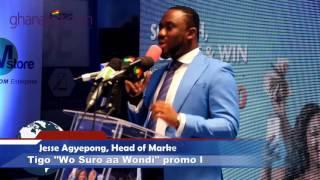 "Jesse Agyepong speak on Tigo Big Six Promo ""Wo suro aa wondi""    GhanaGist.Com Video"