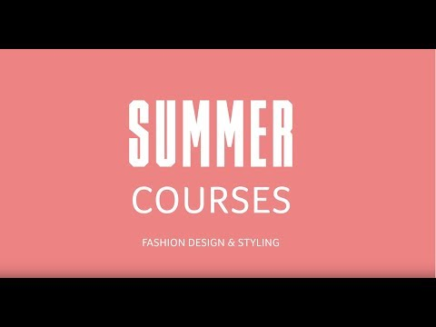 AUB SUMMER COURSES - FASHION DESIGN AND STYLING
