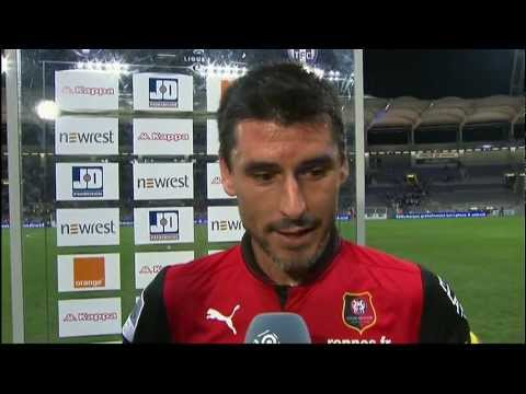 image vido  Interview de fin de match : Toulouse FC - Stade Rennais FC (2-2)