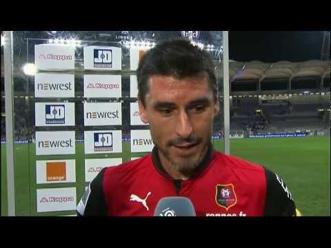 image vidéo  Interview de fin de match : Toulouse FC - Stade Rennais FC (2-2)