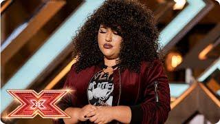 Soulful Shanaya Atkinson-Jones scores SIX yeses!   Auditions Week 1   The X Factor 2017