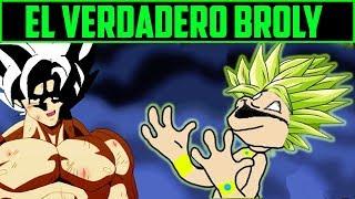 Explicación :  EL VERDADERO BROLY - Dragon ball super pelicula.