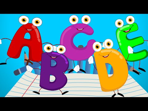 Five Little Alphabets Nursery Rhyme Kids Tv Nursery Rhymes S01EP247