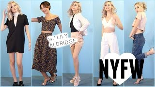 Fashion Week OOTW with Lily Aldridge!♡ (NYFW)