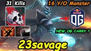 23savage - [Phantom Assassin] NEW OG CARRY ? TOP-1 MMR 16 YEARS OLD MONSTER 31 KILLS | Dota2 7.20
