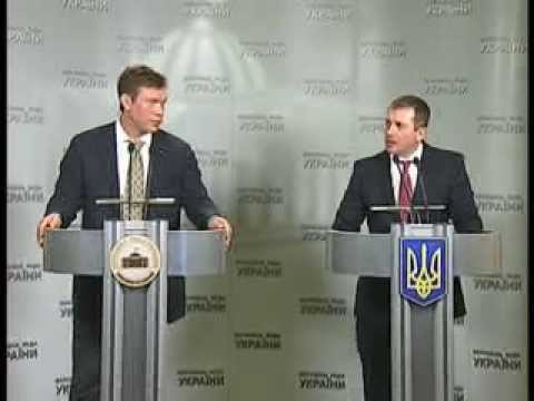 Брифинг Олега Царева и Игоря Молотка 15 января 2014 года