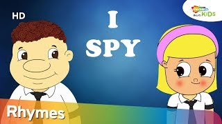 I Spy Color Song in Telugu | Learn colour with Fun | Shemaroo Kids Telugu