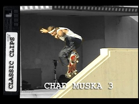 Chad Muska Skateboarding Classic Clips #258 Part 3