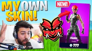 Epic finally gave me my OWN Fortnite skin! It's AMAZING! (Fortnite Battle Royale)