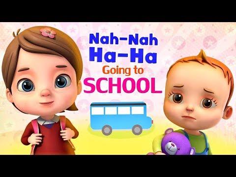 Nah Nah Ha Ha -  Going To School - Baby Ronnie Nursery Rhymes & Kids Songs by Videogyan 3d Rhymes