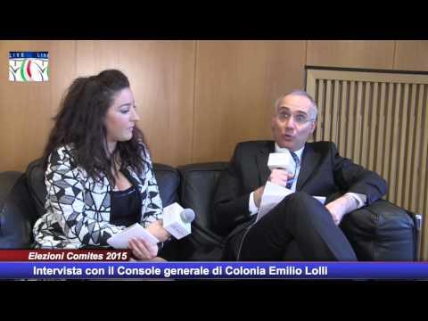 Elezioni Comites Intervista Console generale di Colonia Emilio Lolli