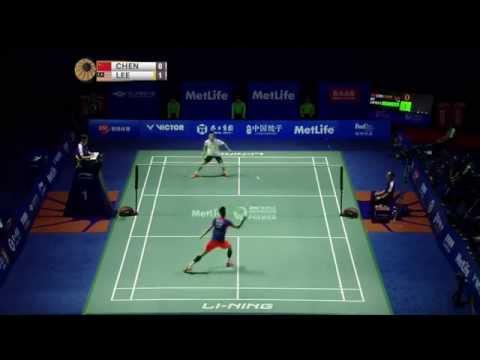 Thaihot China Open 2015 | Badminton F M4-MS | Chen long vs Lee Chong Wei