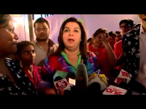 ADOPTATHON 2014 WITH FARAH KHAN