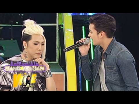 James sings 'Thinking Out Loud'