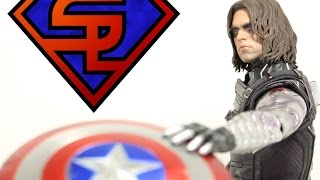 Captain America The Winter Soldier Hot Toys Winter Soldier Movie Masterpiece 1/6 Scale Figure Review
