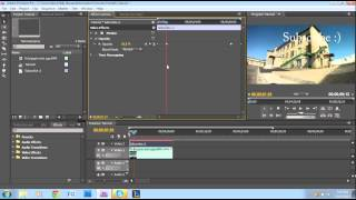 Opacity Key Framing Tutorial - Adobe Premiere Pro