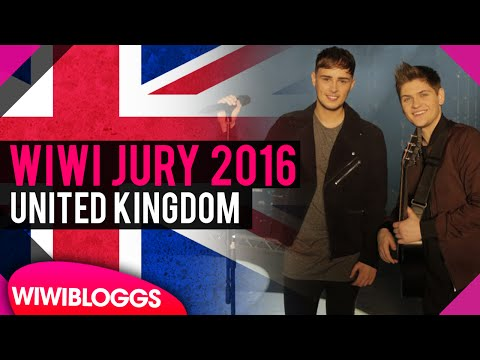 """Eurovision Review 2016: United Kingdom - Joe and Jake - """"You're Not Alone""""   wiwibloggs"""