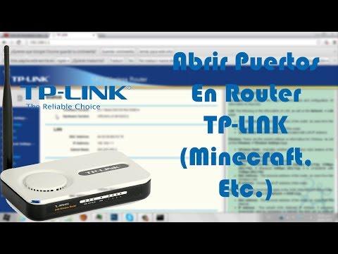 Abrir Puertos Router TP-LINK (Minecraft. Etc.) 2014 [HD]