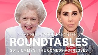 Kristen Bell, Betty White and more Comedy Actresses on THR's Roundtable | Emmys 2013