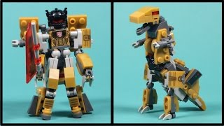 Kre-o Transformers Grimlock - Kreon Battle Changer Building Toy - Unboxing, Time-lapse Build & Play