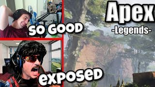 DrDisRespect Exposed by ESPN, Shroud 200 IQ Play | Apex Legends Highlights #15