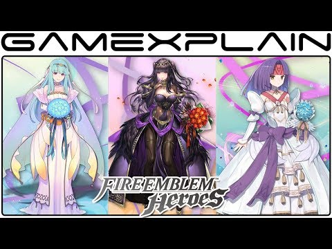 Fire Emblem Heroes - Bridal Bloom Trailer (Special Heroes)