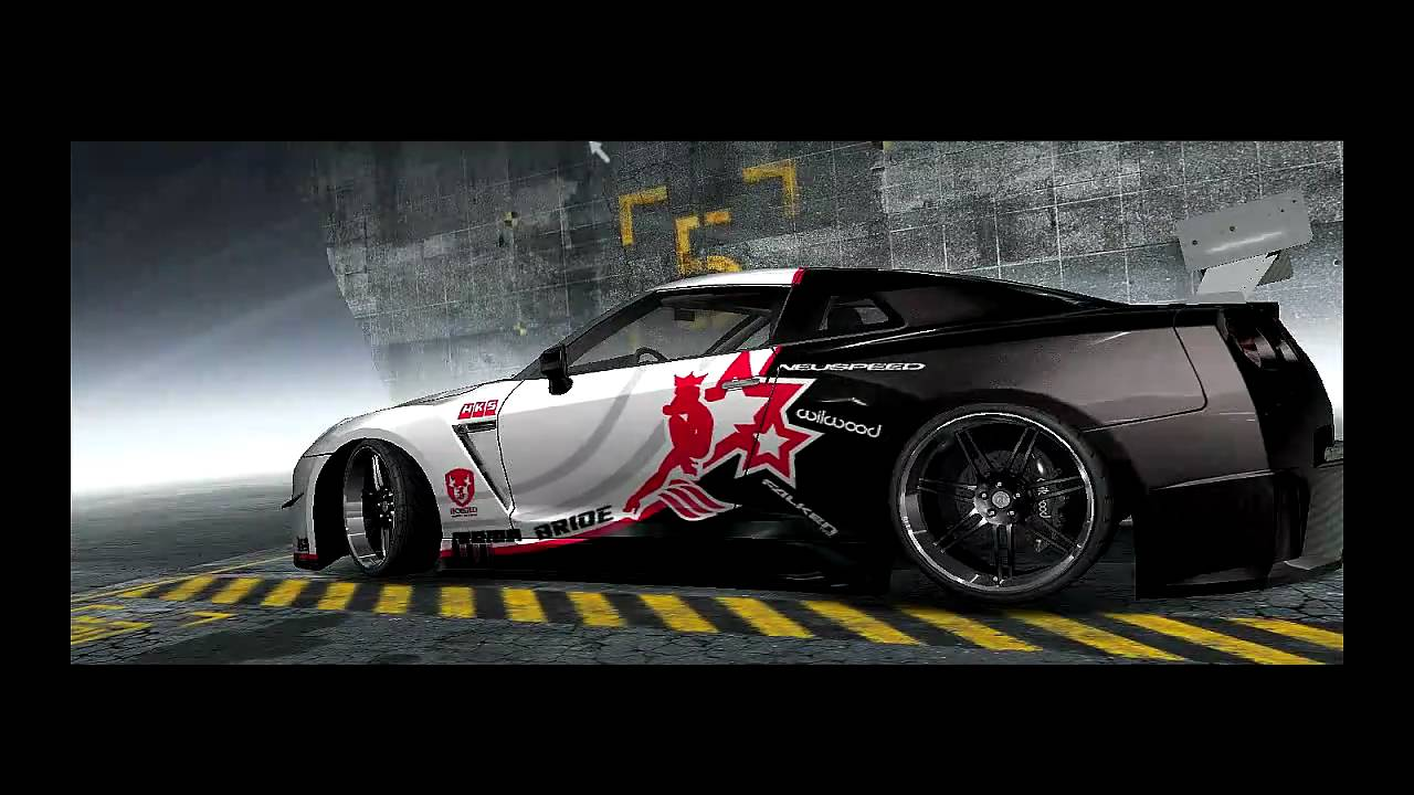 Need For Speed Prostreet Customized Cars  Nissan Gt
