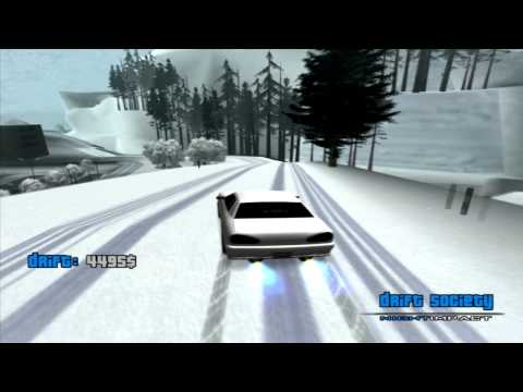 GTA SA- Snow is here