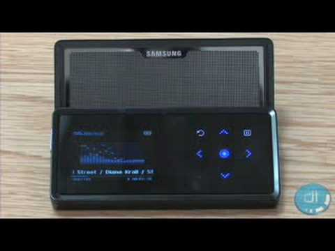 Samsung K5 MP3 Player Review