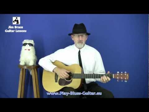 Jim Bruce Acoustic Blues Guitar Lessons - The Broonzy Swing Music Videos