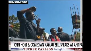 CNN's Kamau Bell and Antifa Supporter caught Inciting 'Rage' at Berkeley Rally