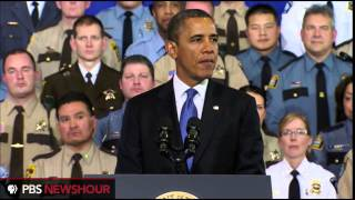 weekly address  Obama Calls for Universal Background Checks for All Gun Purchases. 2/4/13