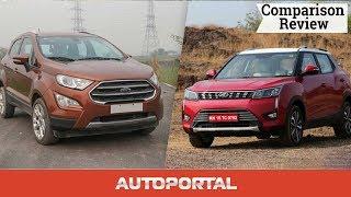 Ford EcoSport vs Mahindra XUV300 Comparison – Autoportal