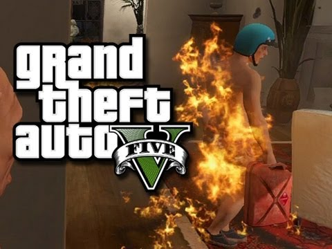 GTA 5 Online Funny Moments!  (House Party Gone Wrong and Electric Box Fun!)