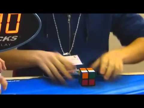 Record duRubik's Cube 2×2