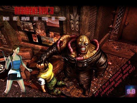 Resident Evil 3 : Nemesis on Hard Difficulty (Full Game)