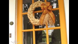 How To Make A Bow For Wreaths And Home Decor